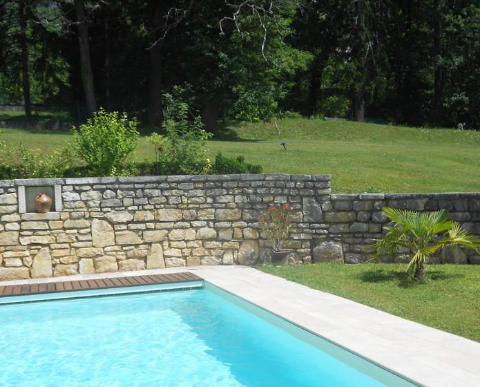 Super Construction d'une piscine | Joël Vuillerod, Artisan maçon SU29